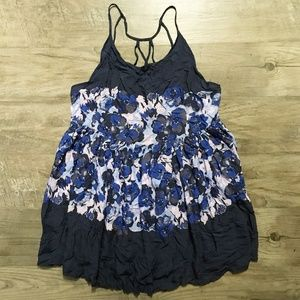Intimately Free People Floral Voile Slip Dress S